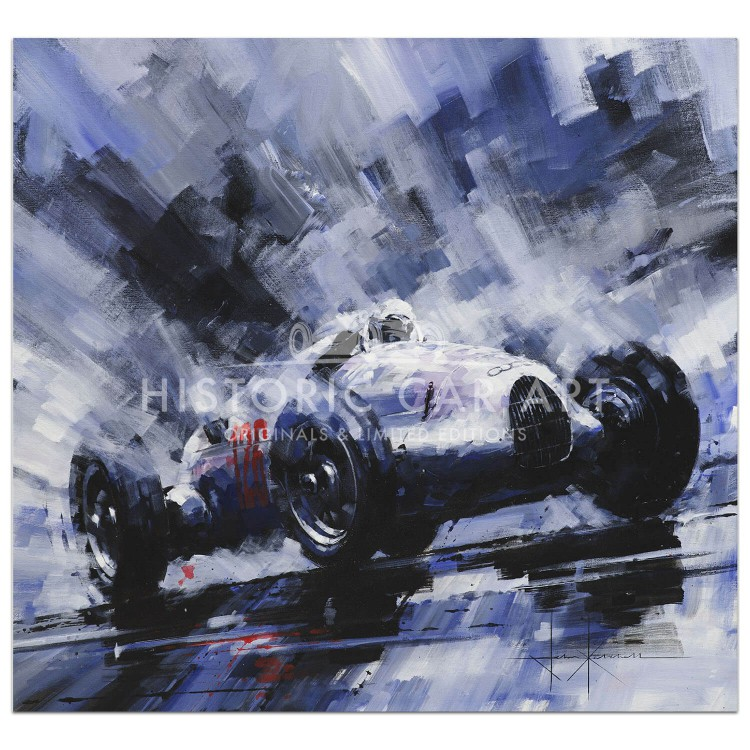Onwards & Upwards | Hans Stuck | Auto Union | Print