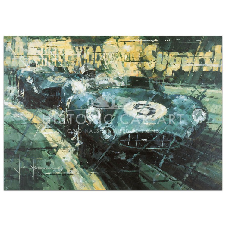 Aston One Two | Salvadori & Shelby | Aston Martin | Print
