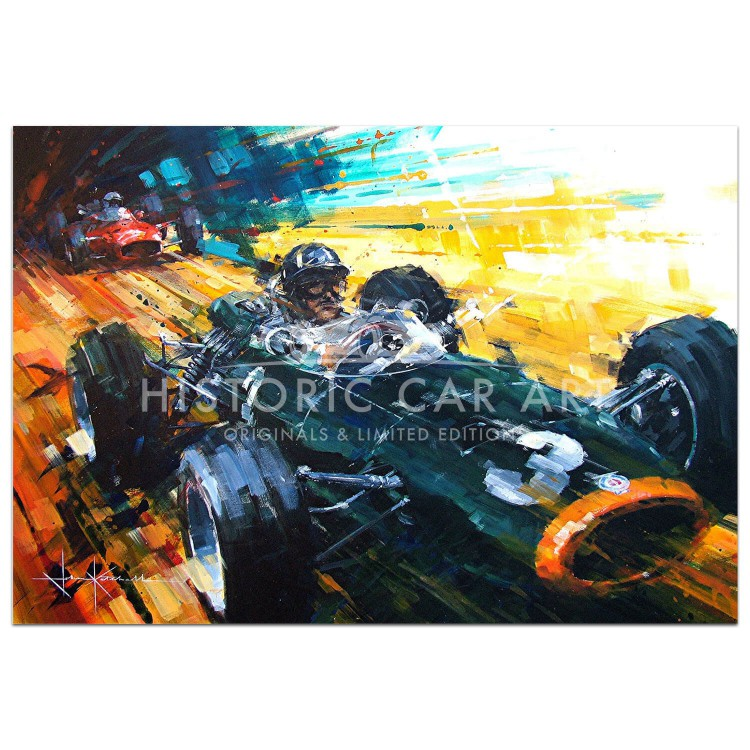 Past Master | Graham Hill | BRM | Print