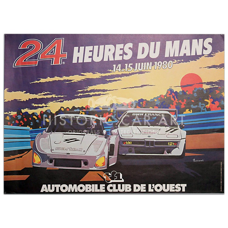 French | Le Mans 24 hours 1980 Poster