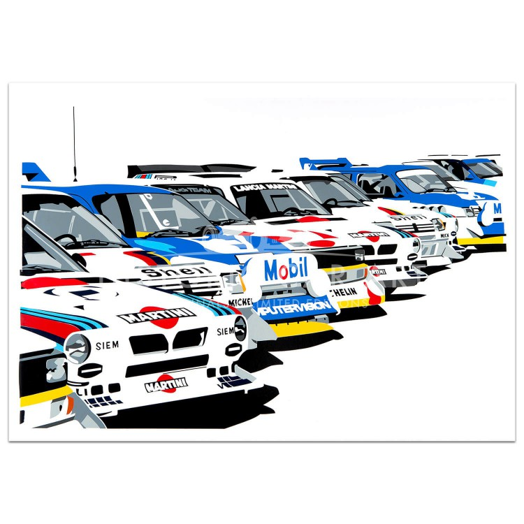 SPEED ICONS: Group B Rally Legends - Print