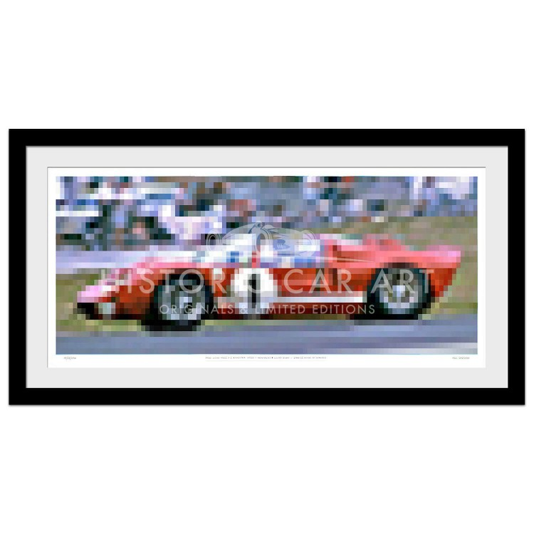 Sebring 12 Hours 1966 | Original Art