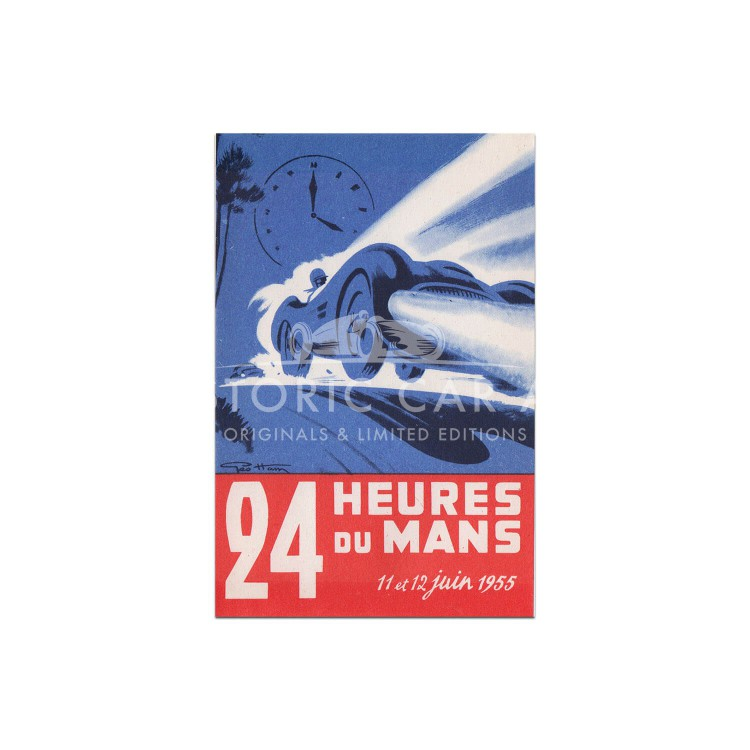 French | Le Mans 24 hours 1955 Poster