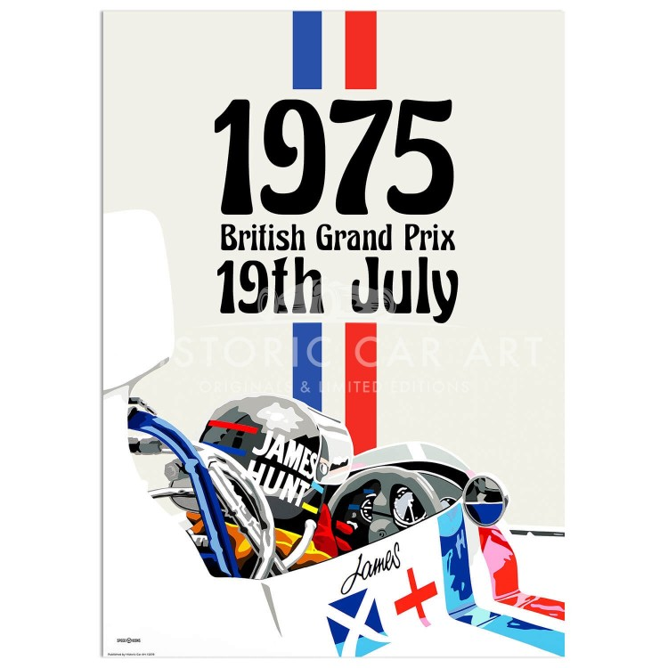 SPEED ICONS: British Grand Prix 1975 | Poster