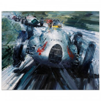 A Show of Force | Nuvolari | Auto Union | Print
