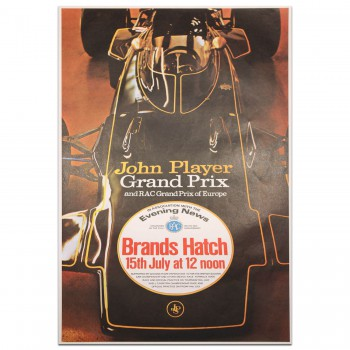 British Grand Prix 1972 Brands Hatch (European Grand Prix) Poster