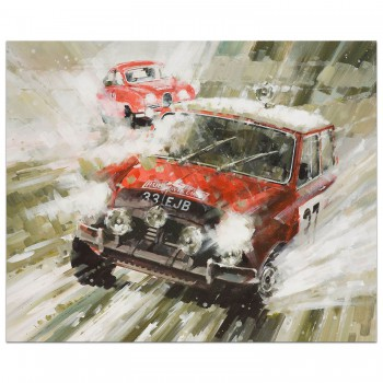 Mini Magic | Hopkirk | Mini Cooper | Print