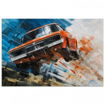 For the High Jump | Dukes of Hazzard | Print