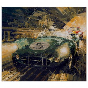Victory at Last | Salvadori & Shelby | Aston Martin | Print