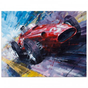 An Italian Affair | Stirling Moss | Maserati | Print