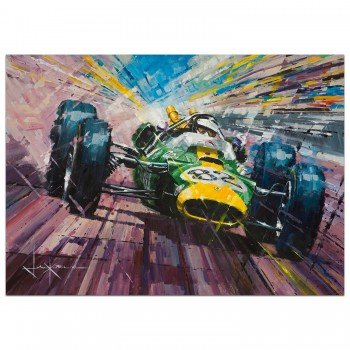 Against All Odds | Jim Clark | Lotus | Print