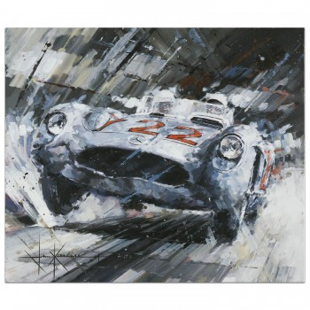 Heading for Victory | Stirling Moss | Mercedes-Benz | Print