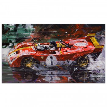 Monza Magic | Ickx & Regazzoni | Ferrari | Print