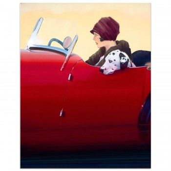 The Nervous Passenger - MG Midget | Dalmatian | 1930