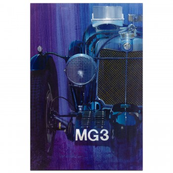 Moonlight Magnette - MG K3 Magnette | 1933 | Art Print