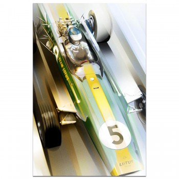 Jim Clark Lotus 49 | Art Print