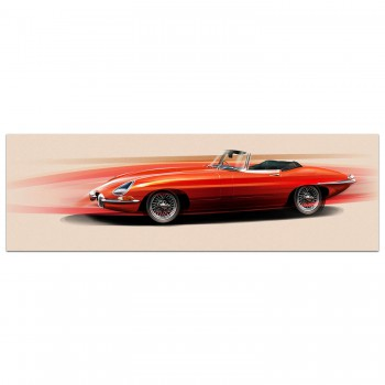 Jaguar E-Type | Art Print
