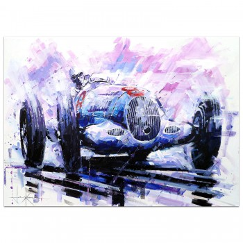 Rain King | Caracciola | Mercedes-Benz | Painting