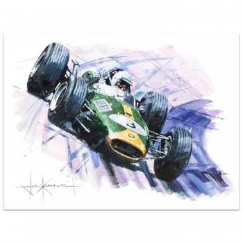 His Own Man | Brabham | Repco | Painting