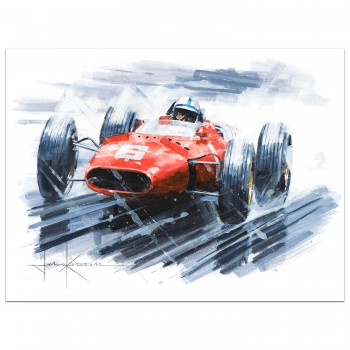 A Racing Legend | Surtees | Ferrari | Painting
