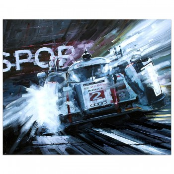 Dominant Force | Kristensen & McNish | Audi | Painting