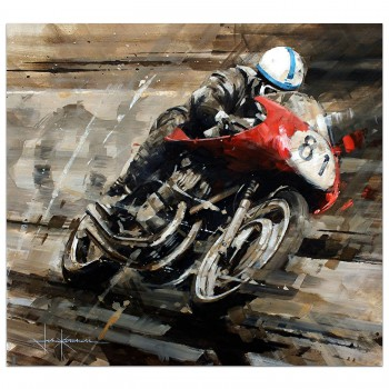 A Senior Moment | Surtees | MV Augusta | Painting