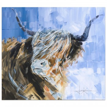 Hamish | Highland Cow | Painting