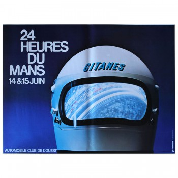 French | Le Mans 24 hours 1975 Poster
