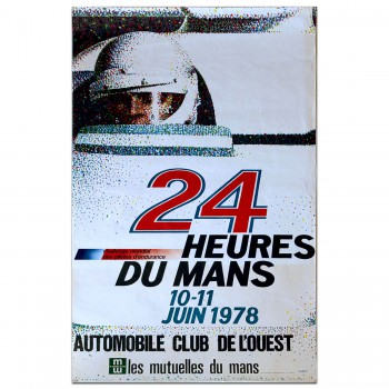 French | Le Mans 24 hours 1978 Poster