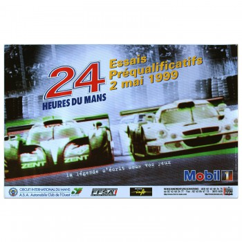 French | Le Mans 24 hours 1999 Essais (Practice) Poster