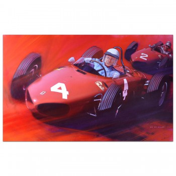 Shark Attack - Ferrari 156 | Phil Hill | Belgian Grand Prix | 1961 | Original