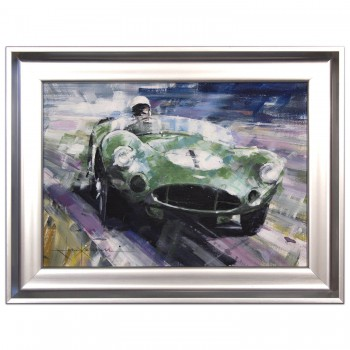 1959 Goodwood TT | Stirling Moss | Aston Martin | Painting