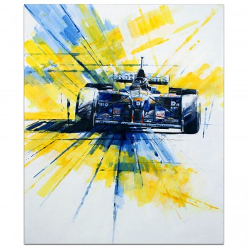 Damon Hill | Williams FW18 | Painting
