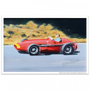 Masters at Work - Fangio and Maserati 250F - Print