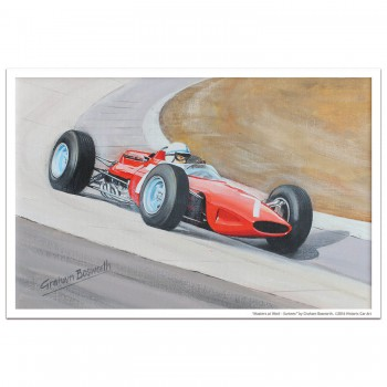 Masters at Work - Surtees and Ferrari 312 - Print