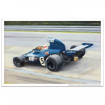 Masters at Work - Stewart and Tyrrell 006 - Print