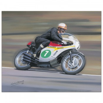 Mike 'the bike' Hailwood - Print