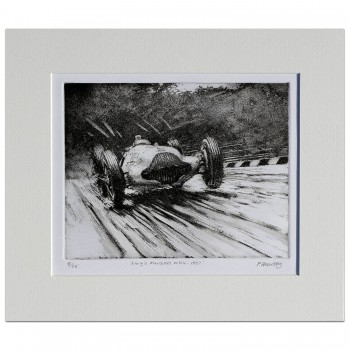 Lang - Mercedes W154 - Etching