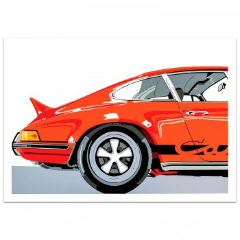 SPEED ICONS: Porsche Carrera 2.7RS - Print