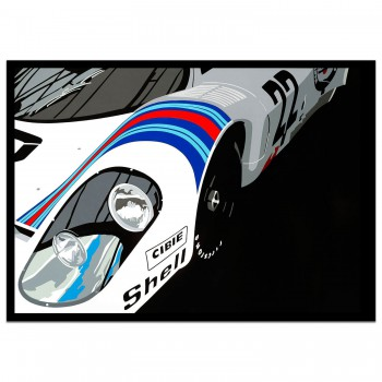 SPEED ICONS: Martini Porsche 917K - Print