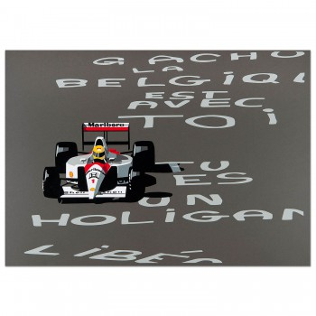 SPEED ICONS: Ayrton Senna - Print