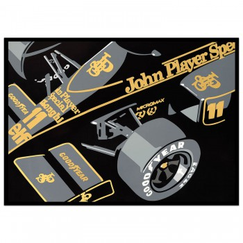 SPEED ICONS: JPS Lotus Formula 1 Car - Print