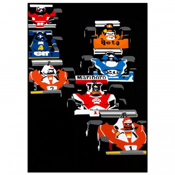 SPEED ICONS: 1976 Grand Prix Pack - Print