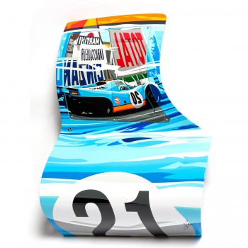 SPEED ICONS: Porsche 917 'Reflections' - Sculptured Print