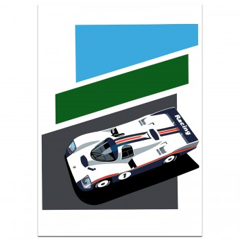 SPEED ICONS: Porsche Return to Le Mans Series No.3 - Print