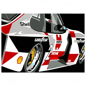 SPEED ICONS: Zakspeed Ford Capri - Print