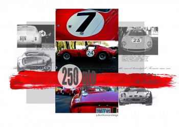 Ferrari 250 GTO - Designer Notes - Print