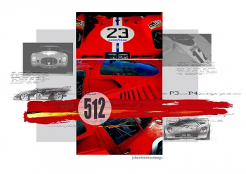 Ferrari 512 - Designer Notes - Print