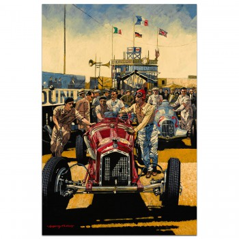 French Grand Prix 1935 - Print