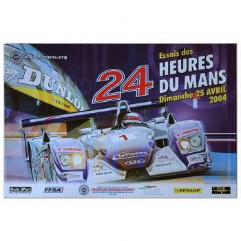 French | Le Mans 24 hours 2004 Essais (Practice) Poster